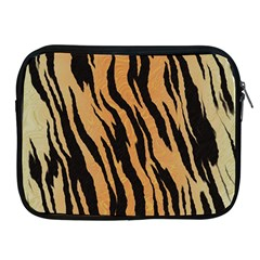 Tiger Animal Print A Completely Seamless Tile Able Background Design Pattern Apple Ipad 2/3/4 Zipper Cases by Amaryn4rt