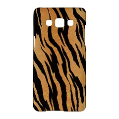 Tiger Animal Print A Completely Seamless Tile Able Background Design Pattern Samsung Galaxy A5 Hardshell Case  by Amaryn4rt