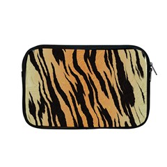 Tiger Animal Print A Completely Seamless Tile Able Background Design Pattern Apple Macbook Pro 13  Zipper Case by Amaryn4rt