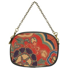 Vintage Chinese Brocade Chain Purses (one Side)  by Amaryn4rt