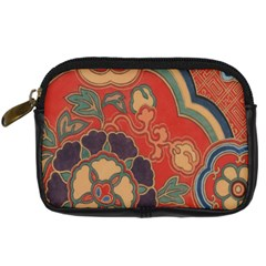 Vintage Chinese Brocade Digital Camera Cases by Amaryn4rt