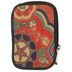 Vintage Chinese Brocade Compact Camera Cases by Amaryn4rt