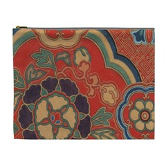 Vintage Chinese Brocade Cosmetic Bag (xl) by Amaryn4rt