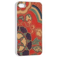 Vintage Chinese Brocade Apple Iphone 4/4s Seamless Case (white) by Amaryn4rt