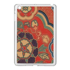 Vintage Chinese Brocade Apple Ipad Mini Case (white) by Amaryn4rt