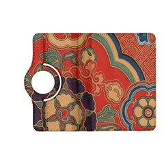 Vintage Chinese Brocade Kindle Fire Hd (2013) Flip 360 Case by Amaryn4rt