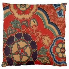 Vintage Chinese Brocade Standard Flano Cushion Case (two Sides) by Amaryn4rt