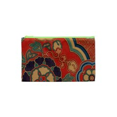 Vintage Chinese Brocade Cosmetic Bag (xs) by Amaryn4rt