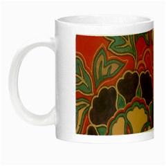 Vintage Chinese Brocade Night Luminous Mugs by Amaryn4rt