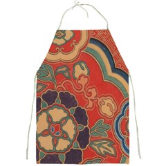 Vintage Chinese Brocade Full Print Aprons by Amaryn4rt