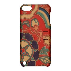 Vintage Chinese Brocade Apple iPod Touch 5 Hardshell Case with Stand