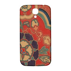 Vintage Chinese Brocade Samsung Galaxy S4 I9500/i9505  Hardshell Back Case by Amaryn4rt