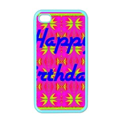 Happy Birthday! Apple Iphone 4 Case (color) by Amaryn4rt