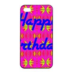 Happy Birthday! Apple Iphone 4/4s Seamless Case (black) by Amaryn4rt