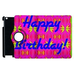 Happy Birthday! Apple Ipad 2 Flip 360 Case by Amaryn4rt
