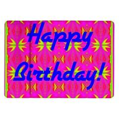 Happy Birthday! Samsung Galaxy Tab 10 1  P7500 Flip Case