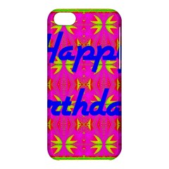 Happy Birthday! Apple Iphone 5c Hardshell Case by Amaryn4rt