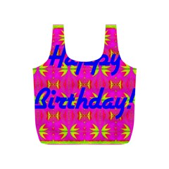 Happy Birthday! Full Print Recycle Bags (s)  by Amaryn4rt