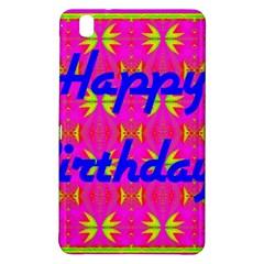 Happy Birthday! Samsung Galaxy Tab Pro 8 4 Hardshell Case by Amaryn4rt