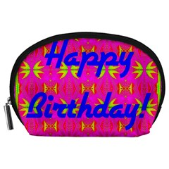 Happy Birthday! Accessory Pouches (large)  by Amaryn4rt