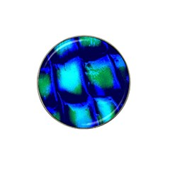 Blue Scales Pattern Background Hat Clip Ball Marker (10 Pack) by Amaryn4rt
