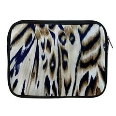 Tiger Background Fabric Animal Motifs Apple Ipad 2/3/4 Zipper Cases by Amaryn4rt