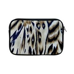 Tiger Background Fabric Animal Motifs Apple Ipad Mini Zipper Cases by Amaryn4rt