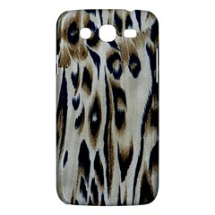 Tiger Background Fabric Animal Motifs Samsung Galaxy Mega 5 8 I9152 Hardshell Case  by Amaryn4rt