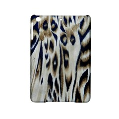 Tiger Background Fabric Animal Motifs Ipad Mini 2 Hardshell Cases by Amaryn4rt