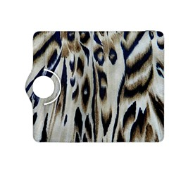 Tiger Background Fabric Animal Motifs Kindle Fire Hdx 8 9  Flip 360 Case by Amaryn4rt