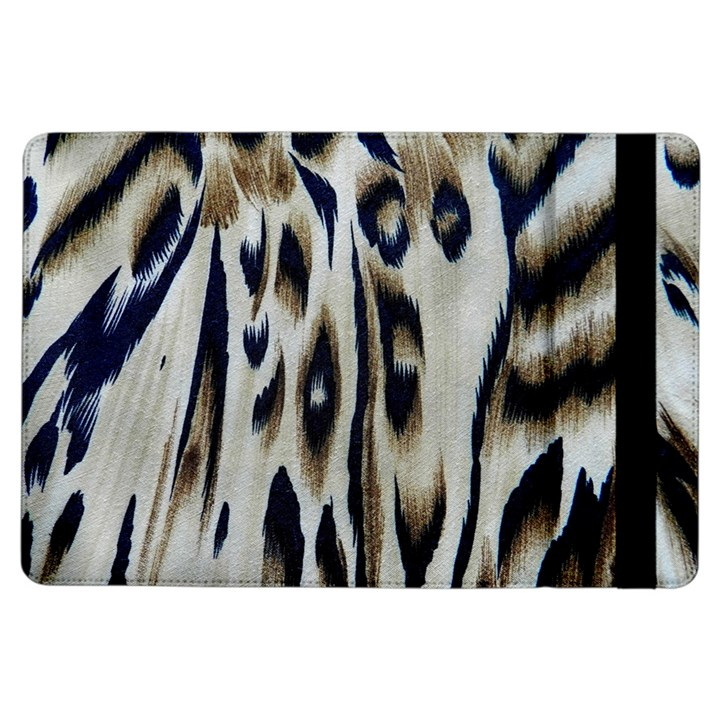 Tiger Background Fabric Animal Motifs iPad Air Flip