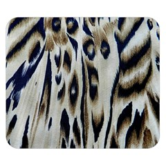 Tiger Background Fabric Animal Motifs Double Sided Flano Blanket (small)  by Amaryn4rt
