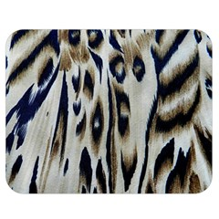 Tiger Background Fabric Animal Motifs Double Sided Flano Blanket (medium)  by Amaryn4rt