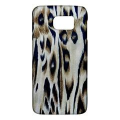 Tiger Background Fabric Animal Motifs Galaxy S6 by Amaryn4rt