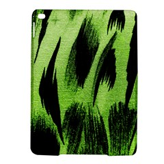 Green Tiger Background Fabric Animal Motifs Ipad Air 2 Hardshell Cases