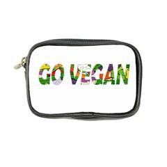 Go Vegan Coin Purse by Valentinaart