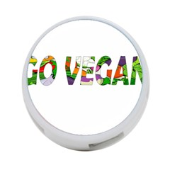 Go Vegan 4 Port Usb Hub (two Sides)  by Valentinaart