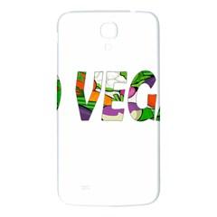 Go Vegan Samsung Galaxy Mega I9200 Hardshell Back Case by Valentinaart