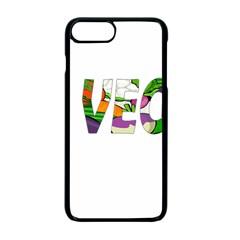Go Vegan Apple Iphone 7 Plus Seamless Case (black) by Valentinaart
