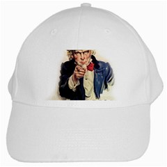 Uncle Sam White Cap by Valentinaart
