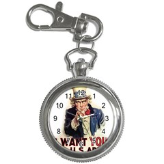Uncle Sam Key Chain Watches by Valentinaart