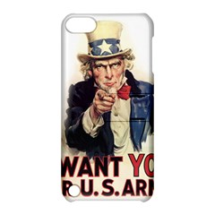 Uncle Sam Apple Ipod Touch 5 Hardshell Case With Stand by Valentinaart