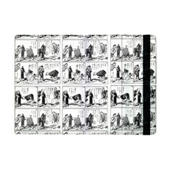 Old Comic Strip Apple Ipad Mini Flip Case by Valentinaart