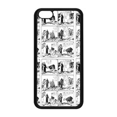 Old Comic Strip Apple Iphone 5c Seamless Case (black) by Valentinaart
