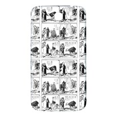 Old Comic Strip Samsung Galaxy Mega I9200 Hardshell Back Case by Valentinaart