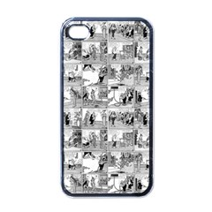 Old Comic Strip Apple Iphone 4 Case (black) by Valentinaart