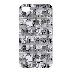 Old Comic Strip Apple Iphone 4/4s Hardshell Case by Valentinaart