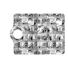 Old Comic Strip Kindle Fire Hd (2013) Flip 360 Case by Valentinaart