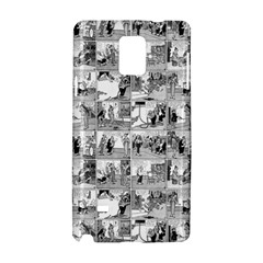 Old Comic Strip Samsung Galaxy Note 4 Hardshell Case by Valentinaart