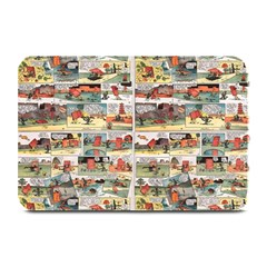 Old Comic Strip Plate Mats by Valentinaart